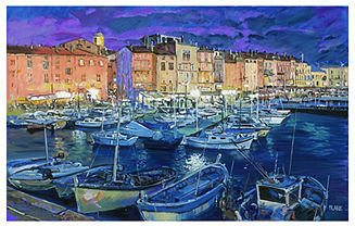 Tropez Future Media Development Wall Art, San Canvas Print by Jerry Blank
