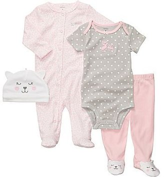 Carter's 4-pc. Layette Set - Girls newborn-9m
