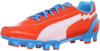 Puma Mens Evospeed 5 FG Football Shoes Red Rot (Orange.com-White-Hawaiian 08) Size: 44.5
