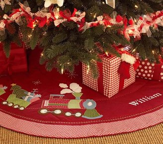 Pottery Barn Kids Quilted Tree Skirt