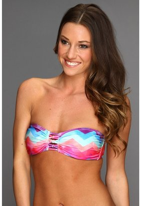O'Neill Painted Bandeau Top (Multi Printed Desert) - Apparel
