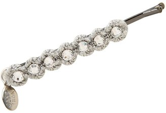 Jane Tran Faceted Crystal Bobby Pin Barrette