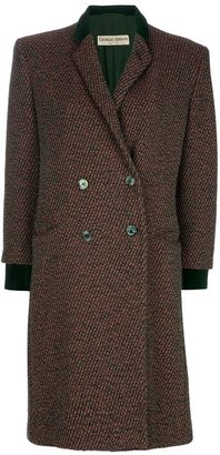 Giorgio Armani Vintage long double breasted coat