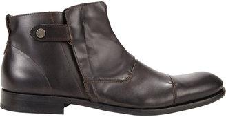 John Varvatos Cap-Toe Ankle Boot