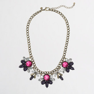 J.Crew Factory Factory flower curtain necklace
