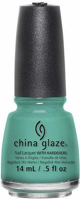 CHINA GLAZE China Glaze Turned Up Turquoise Nail Polish - .5 oz.