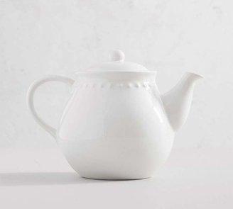 Pottery Barn Emma Beaded Teapot