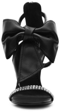 Giuseppe Zanotti Leather Bow Sandal