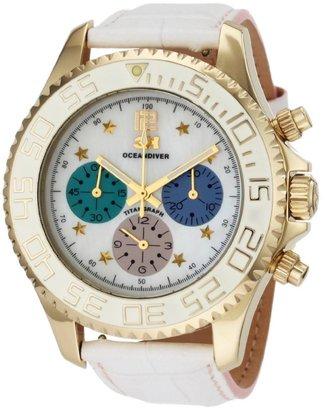 3H Women's CH1M Tintangraph Titanium Gold PVD Chronograph Interchangeable Band Watch