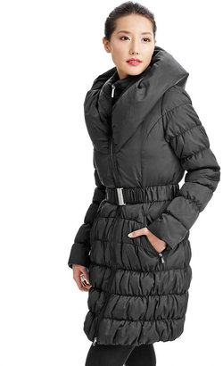 Laundry by Shelli Segal Pillow Collar Coat