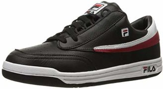Fila Men's Original Tennis Fashion Sneaker Black/White Red