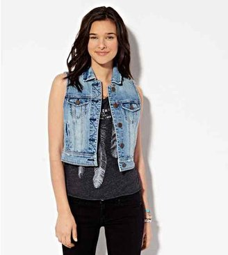 American Eagle AE Denim Vest