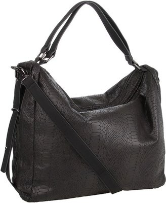 BCBGeneration Brie Convertible Hobo (Black) - Bags and Luggage