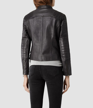 AllSaints Dorsey Leather Biker Jacket