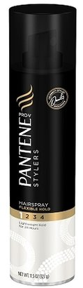 Pantene Stylers Hairspray, Flexible Hold