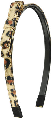 Forever 21 Metallic Animal Print Headband