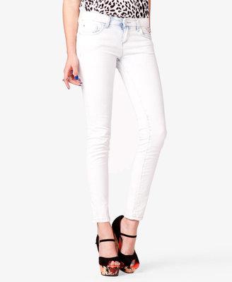 Forever 21 Acid Wash Skinny Jeans