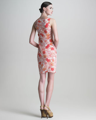 Thakoon Floral-Print Silk Dress