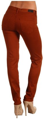 AG Adriano Goldschmied Stilt Cigarette Leg Stretch Sateen in Tannery (Tannery) - Apparel