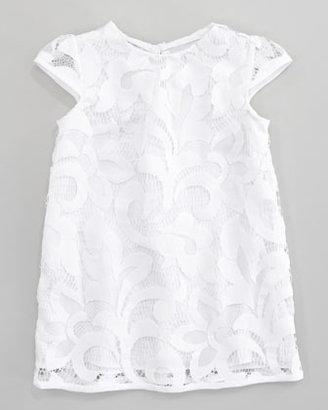 Milly Minis Magnolia Daisy Cap Sleeve Lace Dress, Sizes 2-6