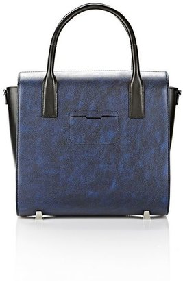 Alexander Wang Large Chastity Satchel In Distressed Nile