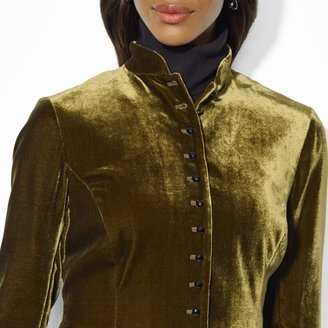 Ralph Lauren Long-Sleeved Fitted Jacket