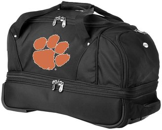 Clemson tigers 22-in. wheeled drop-bottom duffel bag