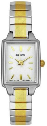 Seiko Women's SXGN07 Two-Tone Watch $74.95 thestylecure.com