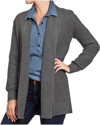Old Navy Women's Textured Open-Front Cardis