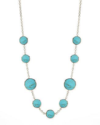 Ippolita Turquoise Slice Necklace