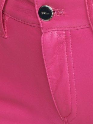 Ralph Lauren Black Label Cropped Leather 888 Jean