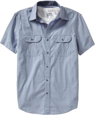 Old Navy Men's Double-Pocket Regular-Fit Shirts
