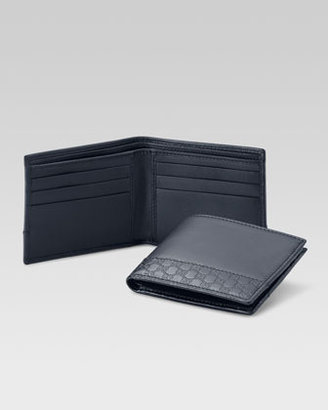 Gucci Mistral Leather Bi-Fold Wallet