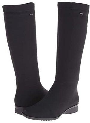 ara Paula (Black Fabric) Women's Waterproof Boots