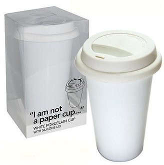 'i am not a paper cup' coffee cup- Hugh's Pick! - 10 left!