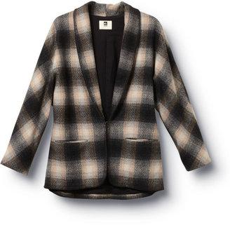Quiksilver QSW Riding Plaid Kimono Jacket