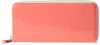 Nixon Moore Large Wallet (Bright Pink Patent) - Bags and Luggage