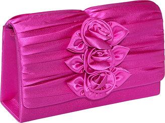 Magid Rose Box Clutch