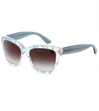Dolce & Gabbana Lace print square sunglasses