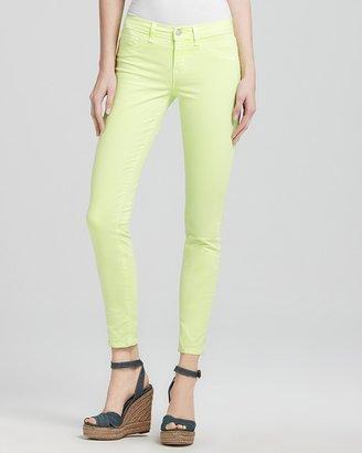 J Brand Jeans - Neon 811 Skinny Jeans in Citron
