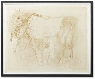 Williams-Sonoma Dufy at the Race Drawing