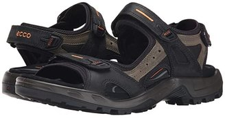 ECCO Sport Yucatan Sandal (Black/Mole/Black) Men's Toe Open Shoes