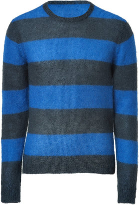 Marc by Marc Jacobs Fresh Blue Striped Kid Knit-Top