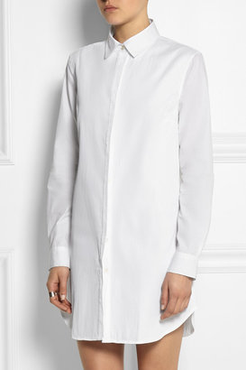 J.W.Anderson Cotton-jacquard shirt dress