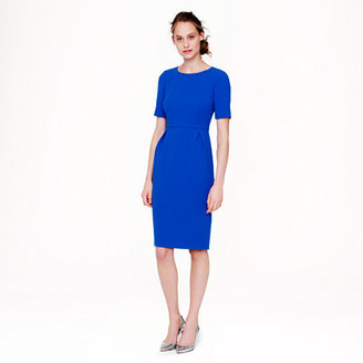 J.Crew Tall crepe short-sleeve dress