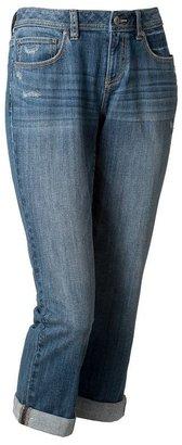 Apt. 9 distressed boyfriend jeans
