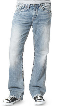 Silver Jeans Co. Men's Grayson Relaxed Fit Straight Jeans $98 thestylecure.com