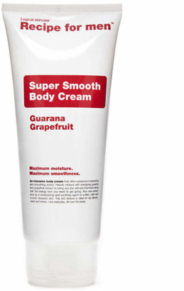 Recipe For Men Recipe for Men - Super Smooth Body Cream 200ml