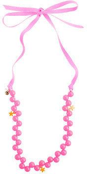 Alldressedup Girls' bead and stars necklace
