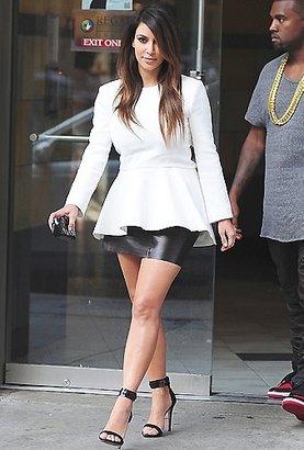 LnA Leather Mini Skirt